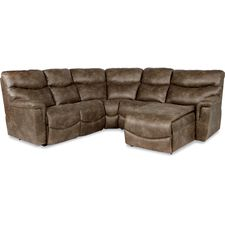 James Sectional with Chaise & Optional Power
